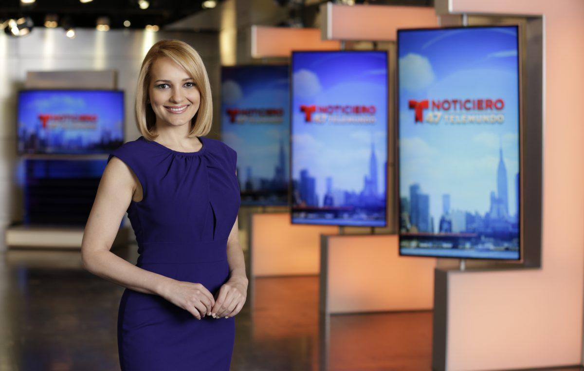 Yaima Crespo de Telemundo 47, una reportera de los hechos que cambian vidas. El rostro de muchos sueños hechos realidad