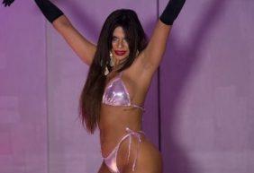 Modelo de 25 años elegida como mejor trasero de Brasil