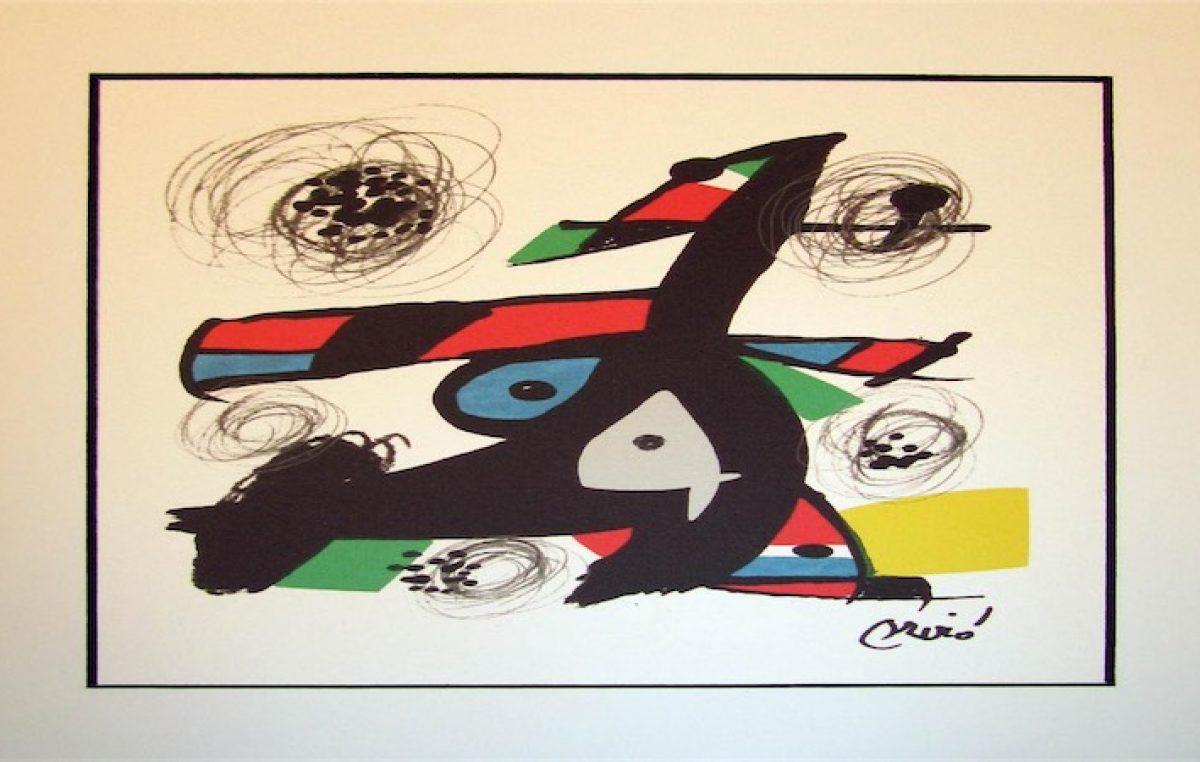CEE expone litografías con las que Joan Miró ilustró libro La Melodía Ácida