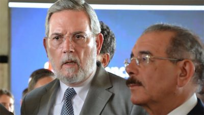 """Rodríguez Marchena dice """"Nadie tiene derecho a dañar el gobierno de Danilo Medina"""""""