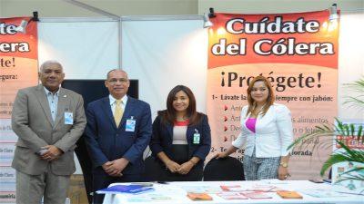 Expertos del Ministerio de Salud imparten charlas en Congreso de Agua