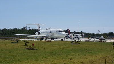 Pawa Dominicana dona aeronave al IDAC por su 20 aniversario