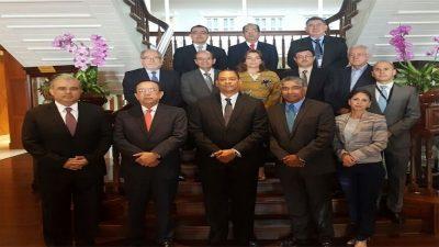 Gobernador Valdez Albizu participa en la VI Reunión Conjunta CMCA-CCSBSO