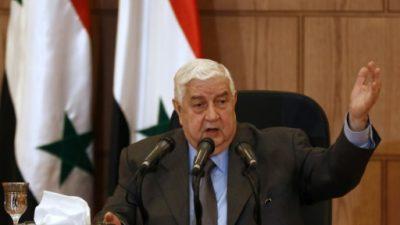 Siria rechaza las acusaciones de Francia sobre el uso de armas químicas