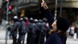 La huelga general en Brasil impacta al transporte y las escuelas