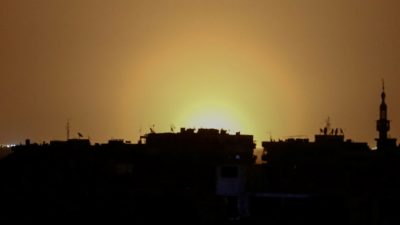 Siria acusa a Israel de disparos de misiles cerca de Damasco