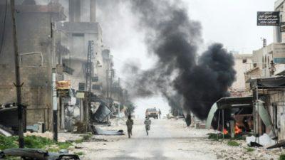 Más de 50 muertos en un ataque del grupo EI en el centro de Siria