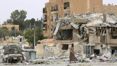 La coalición internacional mata al mayor número de civiles en un mes en Siria, según el OSDH