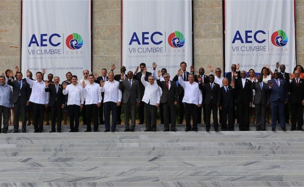 Participación del presidente Danilo Medina en la VII Cumbre AEC
