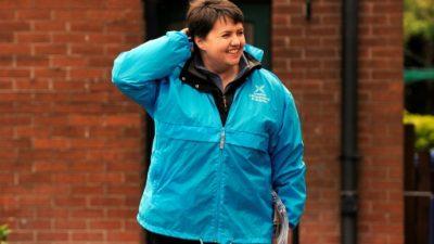 La líder conservadora de Escocia que quiere enterrar el chiste de los pandas