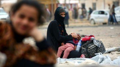 Dieciséis civiles mueren por los bombardeos de la coalición cerca de Raqa, en Siria