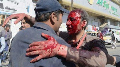 Al menos 90 muertos y 400 heridos por el atentado de Kabul