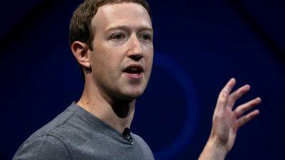 El jefe de Facebook se lanza en campaña sin aspiración electoral