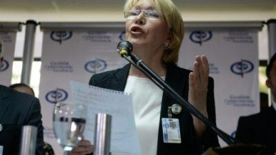 La fiscal general venezolana profundiza la grieta en el chavismo