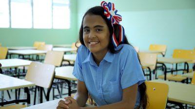 """Laura Patricia: """"Este liceo nos permite saber que la educación de aquí es buena"""""""