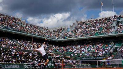 Murray recuerda a las víctimas de los atentados en Roland Garros