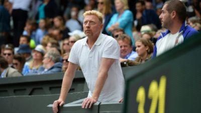 El alemán Boris Becker, declarado en quiebra en Londres