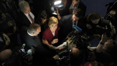 Los nacionalistas escoceses ven cómo se aleja su sueño de independencia