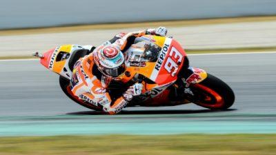 Márquez fue el más rápido en los primeros entrenamientos del GP de Cataluña