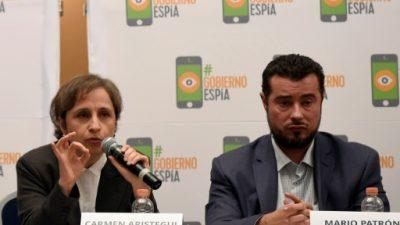 Activistas y periodistas denuncian al gobierno mexicano por ciberespionaje