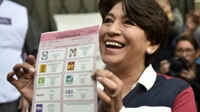 El oficialista PRI podría retener el gobierno del estado de México