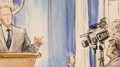 CNN utiliza un dibujante en la Casa Blanca ante prohibición de cámaras