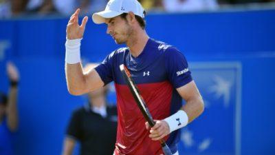 Murray, con molestias en la cadera, renuncia a una exhibición previa a Wimbledon