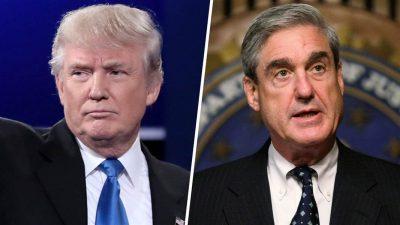 """Trump no tiene ninguna razón para """"despedir"""" al fiscal Mueller"""