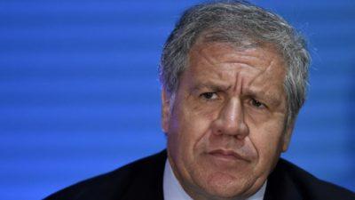 """Almagro renunciaría a la OEA a cambio de """"libertad"""" en Venezuela"""