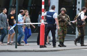 Explosión en una estación de Bruselas, un sospechoso abatido