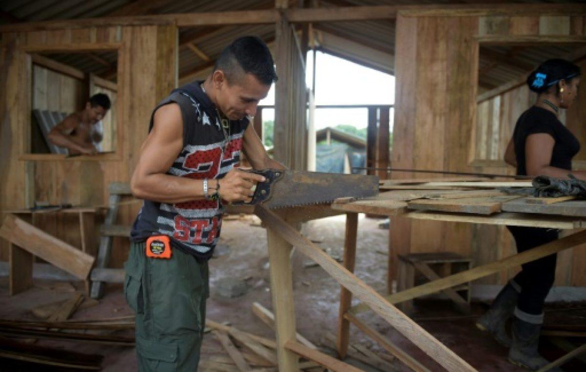 Galería de fotos: Las FARC construyen poblado ecológico y sustentable para vivir en Colombia