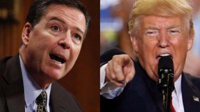 Trump afirma no poseer grabaciones de conversaciones con el exdirector del FBI