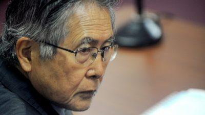 La Corte Suprema de Chile amplía cargos de extradición de Fujimori