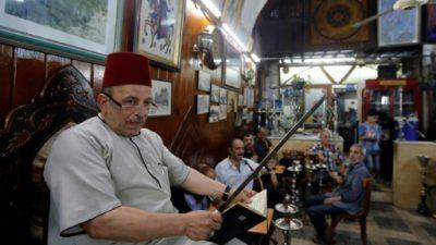 En Damasco, un narrador de cuentos hace olvidar la guerra