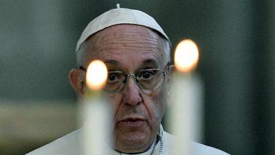 Papa reza por víctimas y damnificados del terremoto en México