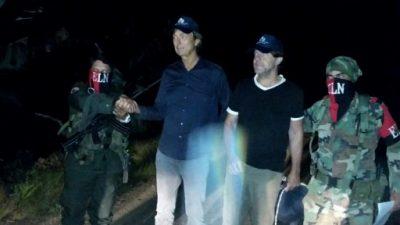 La guerrilla del ELN libera a dos periodistas holandeses secuestrados en Colombia