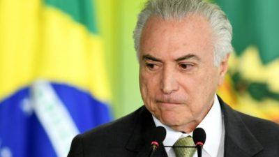 La denuncia contra Temer llega al Congreso y reabre la guerra política en Brasil
