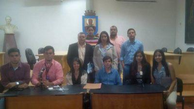 Jóvenes estudiantes pertenecientes a Juventud Debate Táchira rechazaron la Constituyente