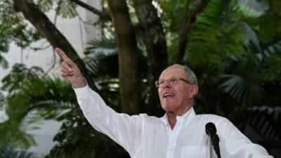 Kuczynski cumple su primer año como presidente de Perú acosado por la oposición