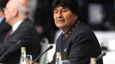 Evo Morales dice que EEUU apoyó con USD 4 millones a grupos de derecha