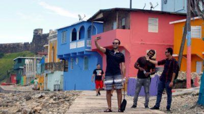 """Turistas perdieron """"despacito"""" el miedo al barrio La Perla en Puerto Rico"""