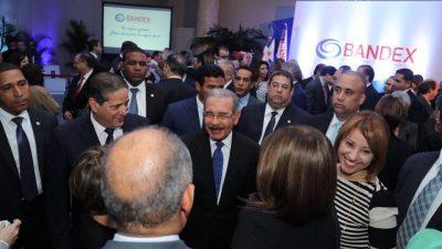 Danilo Medina encabeza acto de presentación de BANDEX; RD$1,355 millones listos para préstamos