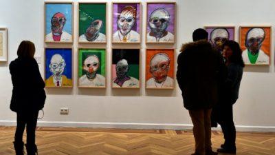 Recuperados tres de los cinco cuadros robados de Francis Bacon en Madrid