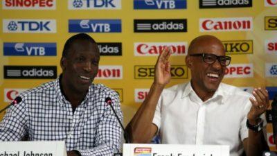 IAAF suspende de forma provisional a Fredericks, sospechoso de corrupción