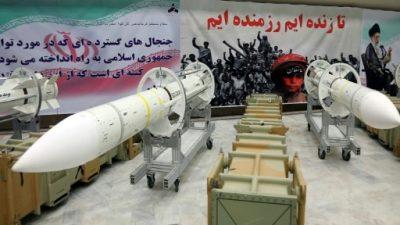 EEUU y potencias europeas exigen a Irán detener el programa de misiles