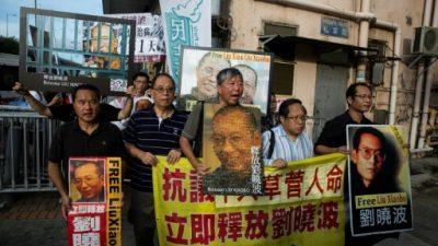 """El premio Nobel de la Paz chino Liu Xiaobo, """"en estado crítico"""""""