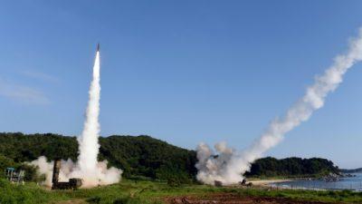 Corea del Norte disparó tres misiles balísticos de corto alcance en el mar de Japón