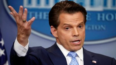 Con 11 días en el cargo, Scaramucci obligado a renunciar como director de Comunicaciones de la Casa Blanca