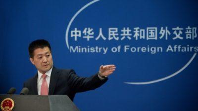 China pide a EEUU que cese sus vuelos de reconocimiento