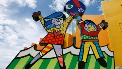 """""""Mientras los demás me critican, yo estoy creando mi arte"""", dice Romero Britto"""